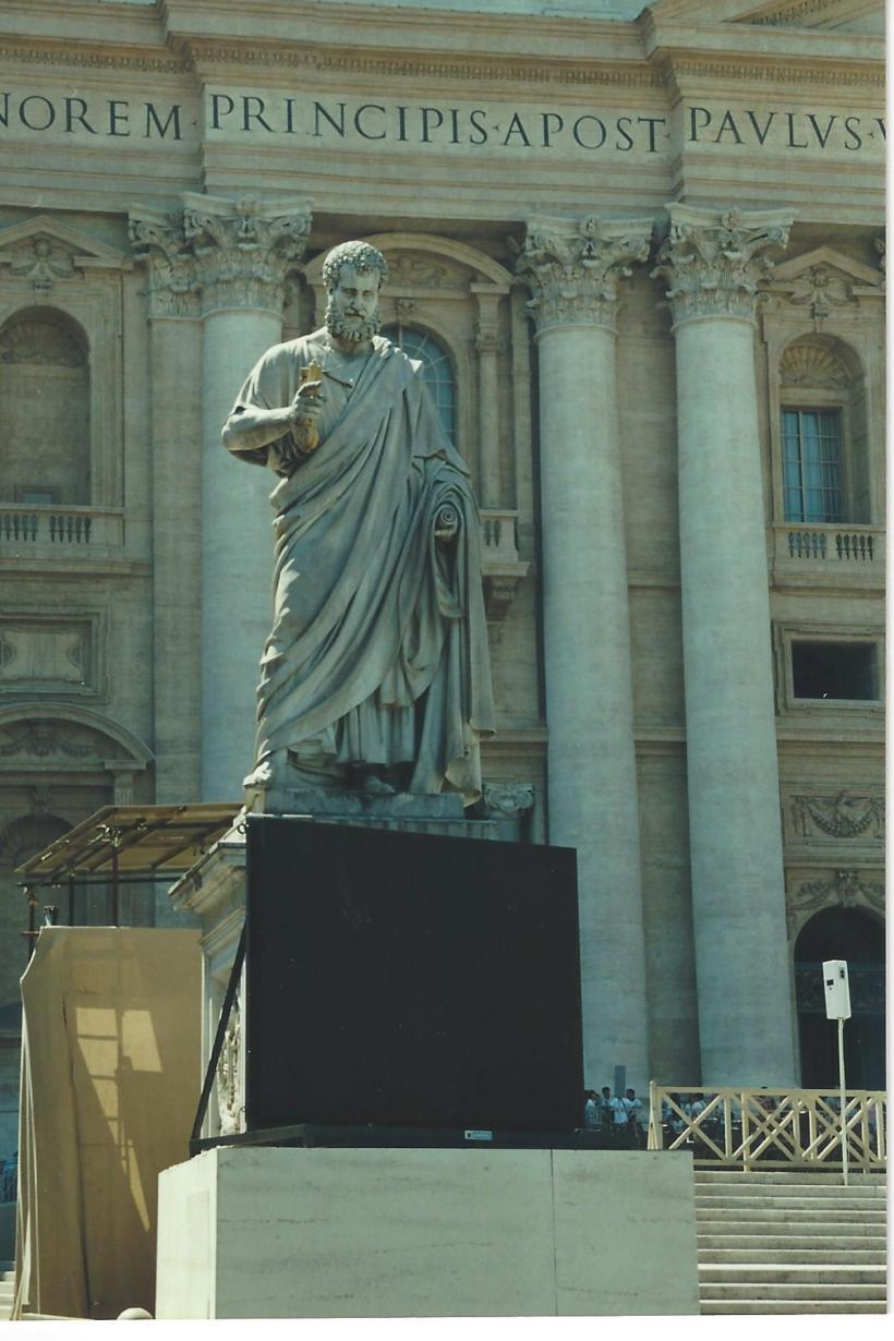 Vatican Square Statue