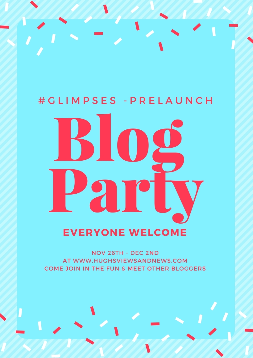 Glimpses - Prelaunch Blog Party poster